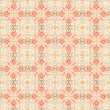 Vintage floral  repeat pattern. Vintage floral wallpaper repeat pattern in pink and beige Royalty Free Stock Photography