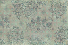 Vintage floral Scrapbook Background. For craft etc Royalty Free Stock Photo