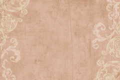 Free Vintage Floral Scrapbook Background Royalty Free Stock Photography - 5548917