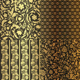 Vintage Floral seamless ornate patterns. Stock Photography