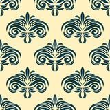 Vintage floral seamless pattern background Stock Image