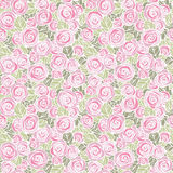 Vintage floral seamless pattern. EPS8 vector. Easily editable Royalty Free Stock Photo