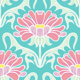 Vintage floral seamless pattern Stock Photos