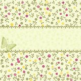Vintage Floral Seamless Pattern In Vector Stock Image