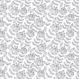 Vintage floral seamless pattern. Royalty Free Stock Image