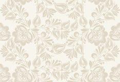 Vintage floral seamless pattern. . Royalty Free Stock Image