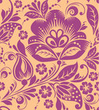 Vintage floral seamless pattern. Vector. Stock Photo