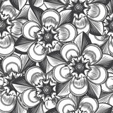 Vintage floral seamless pattern Royalty Free Stock Photo