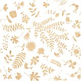 Vintage floral seamless pattern for your design Royalty Free Stock Photo