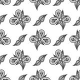 Vintage floral seamless pattern for your design Royalty Free Stock Image