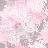 Vintage floral seamlessl pattern Stock Image