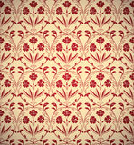 Vintage floral style seamless background. Royalty Free Stock Photography