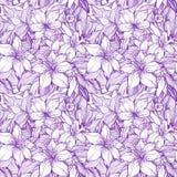 Vintage floral Stock Image
