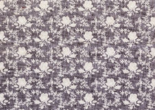 Vintage Floral textile pattern Stock Photography