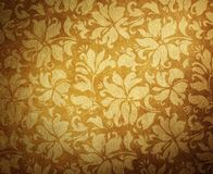 Vintage floral wallpaper Royalty Free Stock Photo