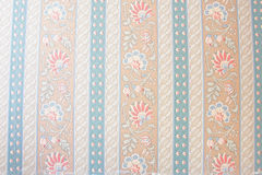 Vintage floral wallpaper. Vintage floral pattern wallpaper background Stock Images