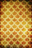 Vintage floral wallpaper Royalty Free Stock Photography