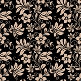 Vintage floral wallpaper seamless pattern Royalty Free Stock Photography
