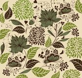 Vintage flower background. Royalty Free Stock Images