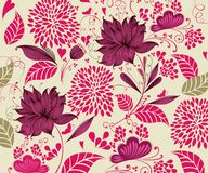Vintage flower background Royalty Free Stock Images