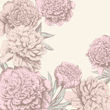 Vintage flower background Royalty Free Stock Image