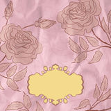 Vintage flower background. EPS 8. Vector file included Royalty Free Stock Photography