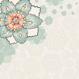 Vintage flower background Royalty Free Stock Photography