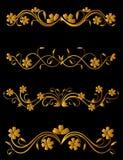 Vintage flower elements Royalty Free Stock Photo