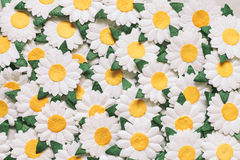 Vintage flower made by paper for background Royalty Free Stock Images