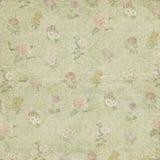 Vintage flower ornament paper wallpaper Stock Image