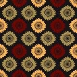Vintage flower pattern Stock Photo