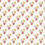 Vintage flower pattern background . Stock Images