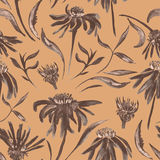 Vintage flower pattern Royalty Free Stock Image