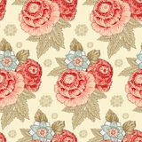 Vintage flower pattern Stock Photos