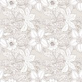 Vintage flower pattern Royalty Free Stock Photo