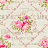 Vintage flower pattern Stock Images