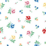Vintage flower pattern Stock Photography