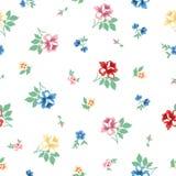 Vintage flower pattern. Vector beautiful vintage seamless pattern Stock Photography