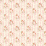 Vintage flower pattern wallpaper Stock Photos
