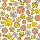 Vintage  flower seamless pattern Stock Photo