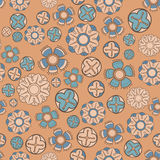 Vintage  flower seamless pattern Royalty Free Stock Photography