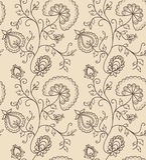 Vintage  flower seamless pattern Stock Images