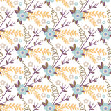 Vintage  flower seamless pattern. Royalty Free Stock Photography