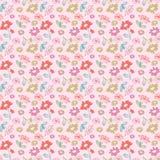 Vintage flower seamless pattern Royalty Free Stock Photos