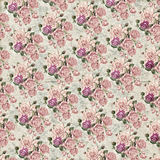 Vintage flower wallpaper texture Royalty Free Stock Photography
