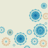 Vintage Flowers. Royalty Free Stock Photo