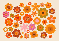 Free Vintage Flowers Stock Photography - 66467622