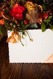 Vintage flowers background Stock Images