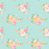 Vintage Flowers Background Royalty Free Stock Photo