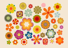 Vintage Flowers part. 2 Royalty Free Stock Photos